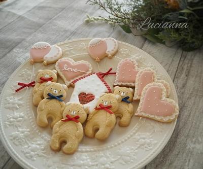 テディベアのクッキーカッター(00202)