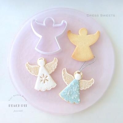 天使 オーナメント クッキーカッター(00209)