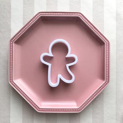 ジンジャーマンBのクッキーカッター(00206)