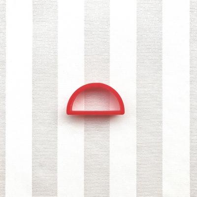 半円(4.5cm)のクッキーカッター(00174)