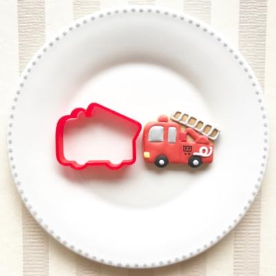消防車のクッキーカッター(0030)