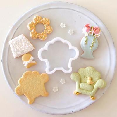 【Fiocco original】アームチェア クッキーカッター(00233)