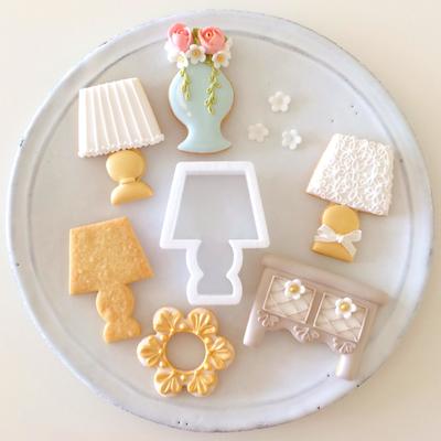 【Fiocco original】テーブルランプ クッキーカッター(00235)