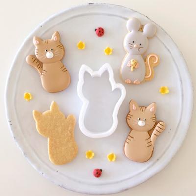【Fiocco original】キャット クッキーカッター(00236)