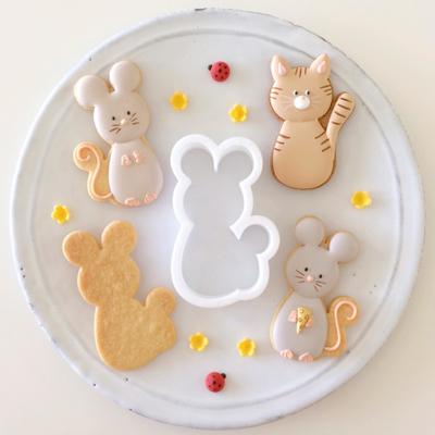 【Fiocco original】マウス クッキーカッター(00237)