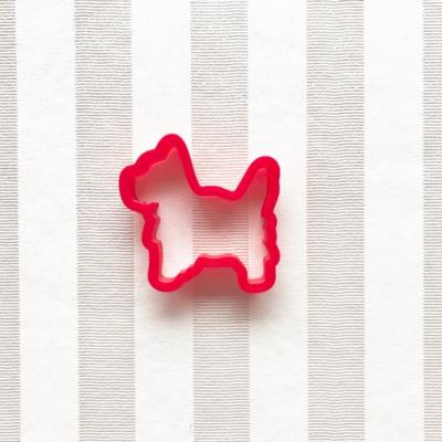 ミニチュアシュナウザーのクッキーカッター(0040)