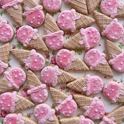 アイスクリームのクッキーカッター(00243)