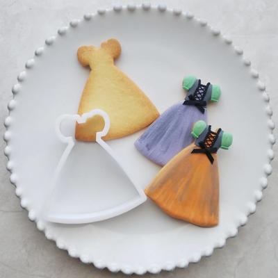 【ayari】パフスリーブドレス クッキーカッター(00271)