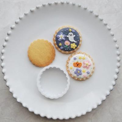【ayari】フリル丸 クッキーカッターセット(00274)