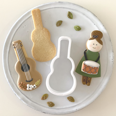【Fiocco original】ギター クッキーカッター(00275)