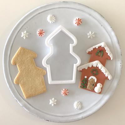 【Fiocco original】スノーウィハウス クッキーカッター(00275)