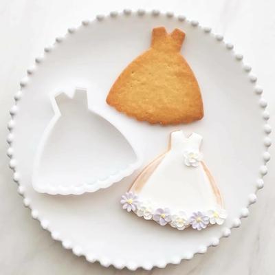 【ayari】ふんわりドレス クッキーカッター(00280)