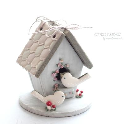 【Cookie Crumbs】バードハウス クッキーカッターセット(00284)