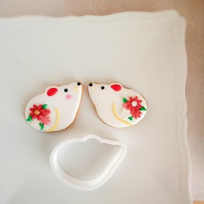 ネズミのクッキーカッター(00287)