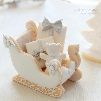 【Cookie Crumbs】ソリ クッキーカッターセット(00290)