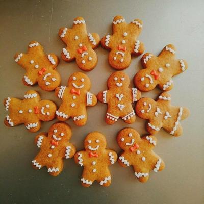 ミニジンジャーブレッドマン クッキーカッター(00289)