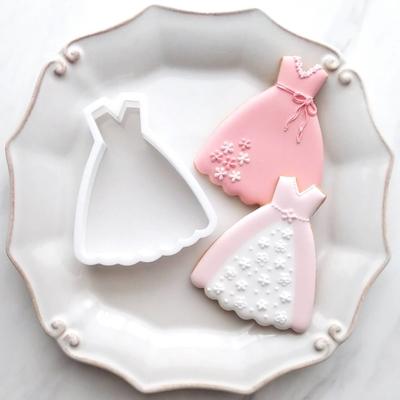 【ayari】すっきりドレス クッキーカッター(00293)