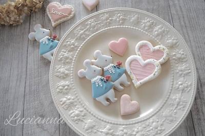 マウスのクッキーカッター(00295)
