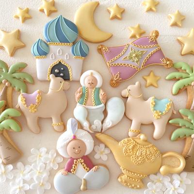 【Fiocco original】マジックランプ クッキーカッター(00298)