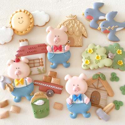 【Fiocco original】カート クッキーカッター(00300)