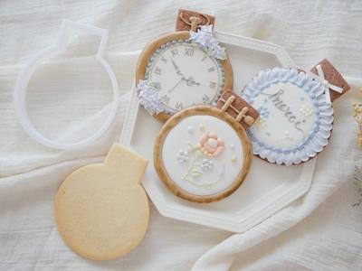 【おうち教室ふくふく】刺繍枠 クッキーカッター(00306)
