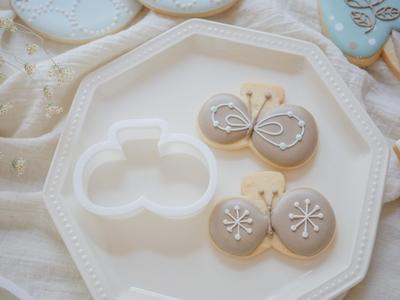 【おうち教室ふくふく】ちょう クッキーカッター (00309)