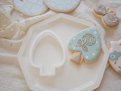 【おうち教室ふくふく】木 クッキーカッター (00309)