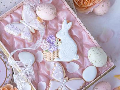 【JILL's original】ウサギ クッキーカッタースタンプセット(00311)
