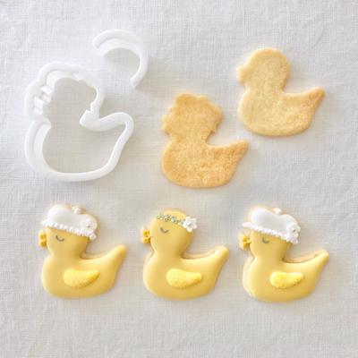 【C.bonbon】ラバーダック クッキーカッターセット(00314)