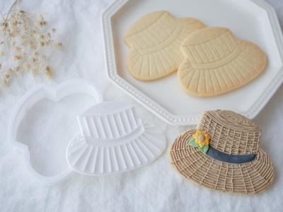 【おうち教室ふくふく】カンカン帽 クッキーカッターセット (00316)