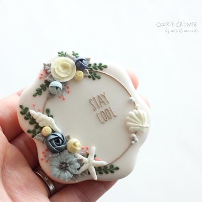 【Cookie Crumbs】六角形フレーム クッキーカッター(00320)