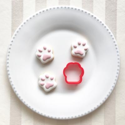肉球(大)のクッキーカッター(0063)