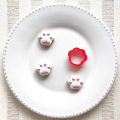 肉球(小)のクッキーカッター(0064)