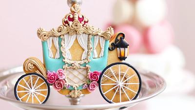 【YuyuCakes】馬車 クッキーカッター(00330)