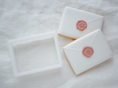 【おうち教室ふくふく】封筒ver.1 クッキーカッター (00335)