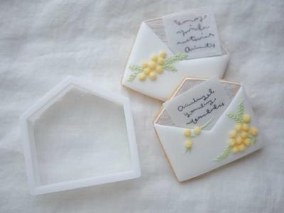 【おうち教室ふくふく】封筒ver.2 クッキーカッター (00335)