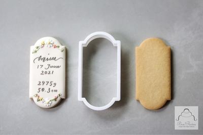 【Bon!Farine  original】ネームプレート クッキーカッター(00340)