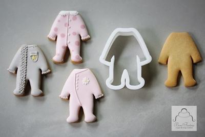 【Bon!Farine  original】ベビーロンパース クッキーカッター(00340)