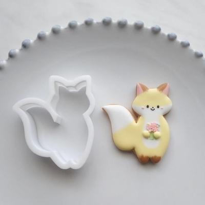 【ayari】キツネ クッキーカッター(00194)