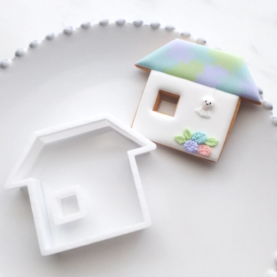 【ayari】おうち(窓あり) クッキーカッター(00239)