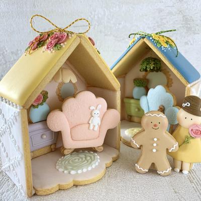 【Fiocco original】ドールハウスクッキーカッターセット(00348)