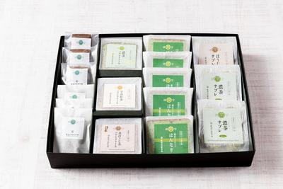 茶農家からの贈り物《濃茶チョコサンド・フィナンシェ2種・パウンドケーキ3種・サブレ3種》