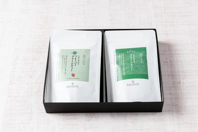 ギフトセット《手摘み抹茶グリーンティー・フレーバーグリーンティー-ストロベリー-》