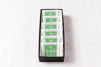 濃茶チョコサンド《はんなり》(6個セット)