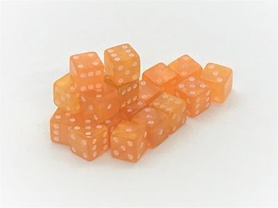ペールオレンジミニD6 7mm