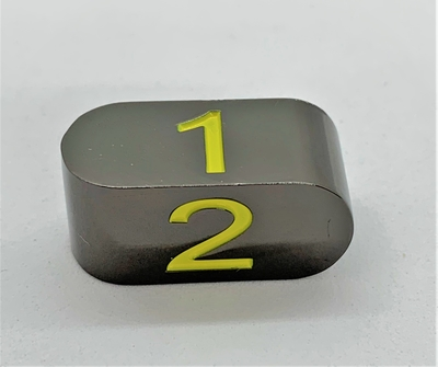 Infinity D4 Black with Gold numbers