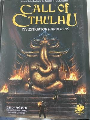 Call of Cthulhu Investigator Handbook (7th ed.) Hardcover