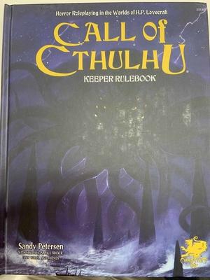 Call of Cthulhu Keeper Rulebook (7th Ed.) Hardcover