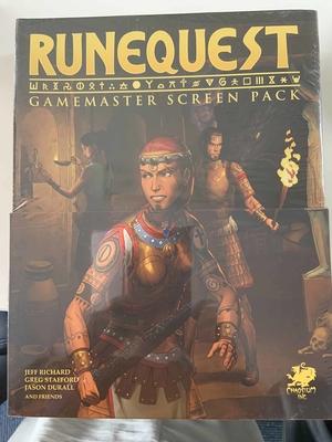 RuneQuest Gamemasters Pack