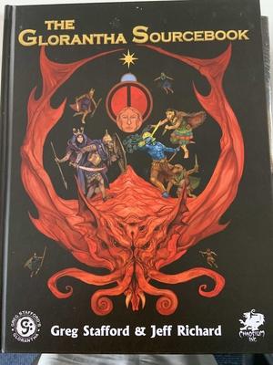 The Glorantha Sourcebook - Hardcover